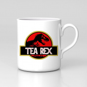 Tea Rex Jurassic Park T-rex Funny Work Home Mug Coffee Tea Tumblr New