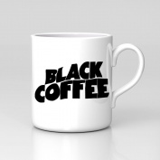 Black Coffee Black Sabbath Style Mug Funny Work Home Mug Coffee Tea Tumblr New