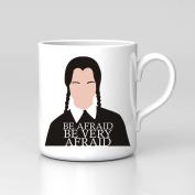 Wednesday Addams Family Fan Art Unofficial Halloween Minimal Mug Coffee Tea