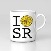 I Love Stone Roses Lemon Heart SR Retro Music Adored Mug Home Coffee Tea