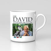 Sir David Attenborough BBC Documentary Retro Gift Coffee Tea Mug Birthday Work