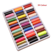 DAYNECETY Sewing Thread Roll Machine Polyester Thread Knitting Art Craft Embroidery Fabric Hand Sewing Stitching