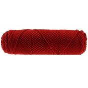 Knitting Wool DIY Woven Thread Cotton Cloth Yarn Hand Crocheted Blanket Elastic-Rust Red
