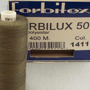 Sewing Thread Olive Grüngrau Thickness 50 Polyester – 400 m Forbitex Forbi Lux