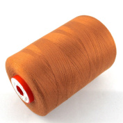 Brown Sewing Thread Light Brown Polyester Thickness 80 5000 m Trecore Forbilux
