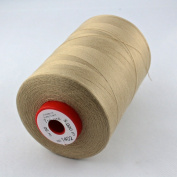Sewing Thread Beige Light Beige Thickness 80 Polyester 5000 m Trecore Forbitex