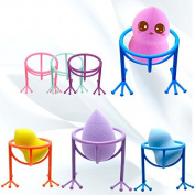 Msmask Beauty Egg Makeup Powder Puffs Drying Racks Dry Tools Holder Support Multicolors