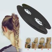 Msmask Magic Hair styling Hair braid tool Holder Beauty Ladies New Fashion DIY Braider