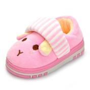Estamico Toddler Boys Girls Anti-slip Rubber Sole Winter Rabbit Slippers Warm Home Shoes