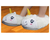 Zerci Warm Winter Cartoon Unicorn Pony Slippers Home Shoes