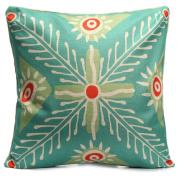 prelikes Vintage Flower Cotton Linen Pillow Case Waist Cushion Cover Sofa Car Home Decor