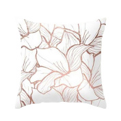 Geometric Marble Texture Throw Pillow Case Cushion Cover Sofa Home Decor,Byste Super Soft Fabric