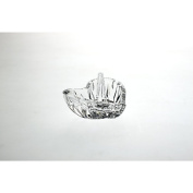 Ring holder Heart Imperial 9,5cm, transparent, lead crystal,