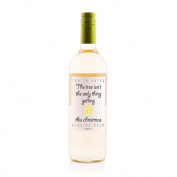 """""""The tree isn't the only thing getting lit this Christmas"""" White Wine - the perfect gift for Christmas."""