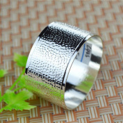 Liuyu Kitchen Home Silver Napkin Ring Mouth Cloth Circle Napkin Buckle Hotel