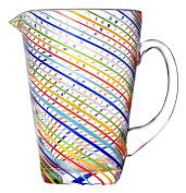 galbiati Milano ug740 Jug, Stripe/Multi-Colour
