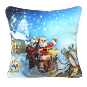YanHoo Halloween Christmas Sofa Bed Home Decor Pillow Case Cushion Cover