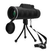Monocular Telescope, Mesllin Super Clear 40x60 Focus Zoom HD OPTICS BAK4 Waterproof Wide View Handheld Eyepiece with Tripod for Bird Watching Outdoor Sport Camping Travelling