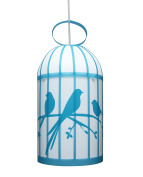 R & M Coudert Child's Light Cage Birds Turquoise
