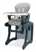 Asalvo Activity Stars Design High Chair