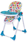 Asalvo Little Dogs High Chair with Wheels
