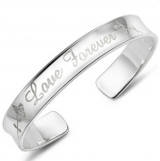 Cdet 1X Bracelet Love Charm Chain Bracelet Womens Girls Party Wedding Jewellery Christmas Gift