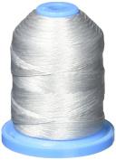 Robison-Anton Polyester Decorative Floss Thread, Silver Grey