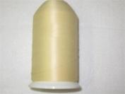Bulk Ivory (5) - Polyester- Woolly Ovelocking Sewing Thread 7000 yards
