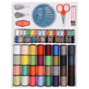 64 Spools Colours Sewing Threads Set Sewing Tools Kit