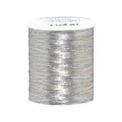 Impex Metallic Embroidery Thread 180m Silver - each