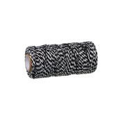 Creafirm – 100 m Spool of Black and White Baker's Twine-Style String