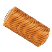 200 Metre 150D 1mm Waxed Wax Thread Cord Sewing Craft for DIY Leather Hand Stitching Light Brown