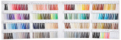 FUJIX (Fujix) King polyester sewing thread swatch book