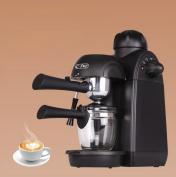 NabothT Mini Coffee Machine Pump Pressure Portable Coffee Machine Steam to Fight Milk Bubble,Black 235x165x300MM