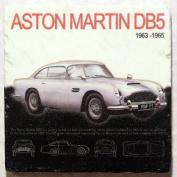 Natural Marble Coaster - Aston Martin DB5