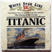Natural Marble Coaster - Titanic