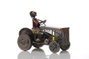 ludi-vin Door Metal Tractor Bottle