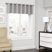 Eclipse Curtains Window Valance, Grey, 130cm x 46cm