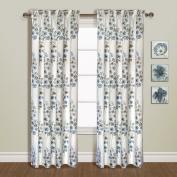 United Curtain Chelsea Window Curtain Panel, 130cm by 210cm , Blue