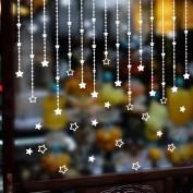 Christmas Star Window Wall Sticker Decal Mural Home Xmas Decor Removable, Ularma