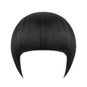 Girl's Clip On/In Neat Bang Straight Fake Fringe For Bob Hair Style Xuanhemen