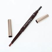 Msmask 1PC Rotatable Waterproof Eye Brow Eyeliner Eyebrow Pen Pencil With Brush Makeup Cosmetic Beauty Tool