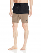 Rusty mens Duo Marle Elastic Boardshort Board Shorts