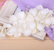 MDRW-Bride Wedding Prom Hair Pins Theheaddress _ Pearl Tiara Hair Bands Hair Headwear Crown N N
