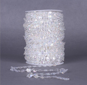 Cotton thread bead chain 30 m wedding DIY jewellery accessories (2 colours) , 2