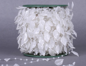 Wedding scene decoration pearl bead chain fishing line wreath wedding floral DIY decorative accessories 60 metres white / beige , white