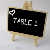 Large Blackboard Stand in Ivory