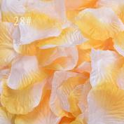 Romancy 500pcs Artificial Silk Rose Petals for Wedding Party Decor