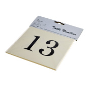 Pre Numbered Square Cream Table Numbers for Holders (13-24) - XTNSI2
