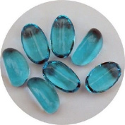 500g of app 80-83 Decorative TURQUOISE Glass Stone Pebbles 20mm